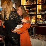 "Oh Yeah! The book in her hand IS ""What is Normal?"" by Ginny Scales-Medeiros .....Andrea the Editor and Chief of Gladys Magazine is giving Ginnys book in person 2 ( The Real Housewives of New York"" star Aviva Drescher)  by Luxe Photography by Leah Casto"